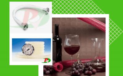 Mangueras para uso en la Industria de Alimentos