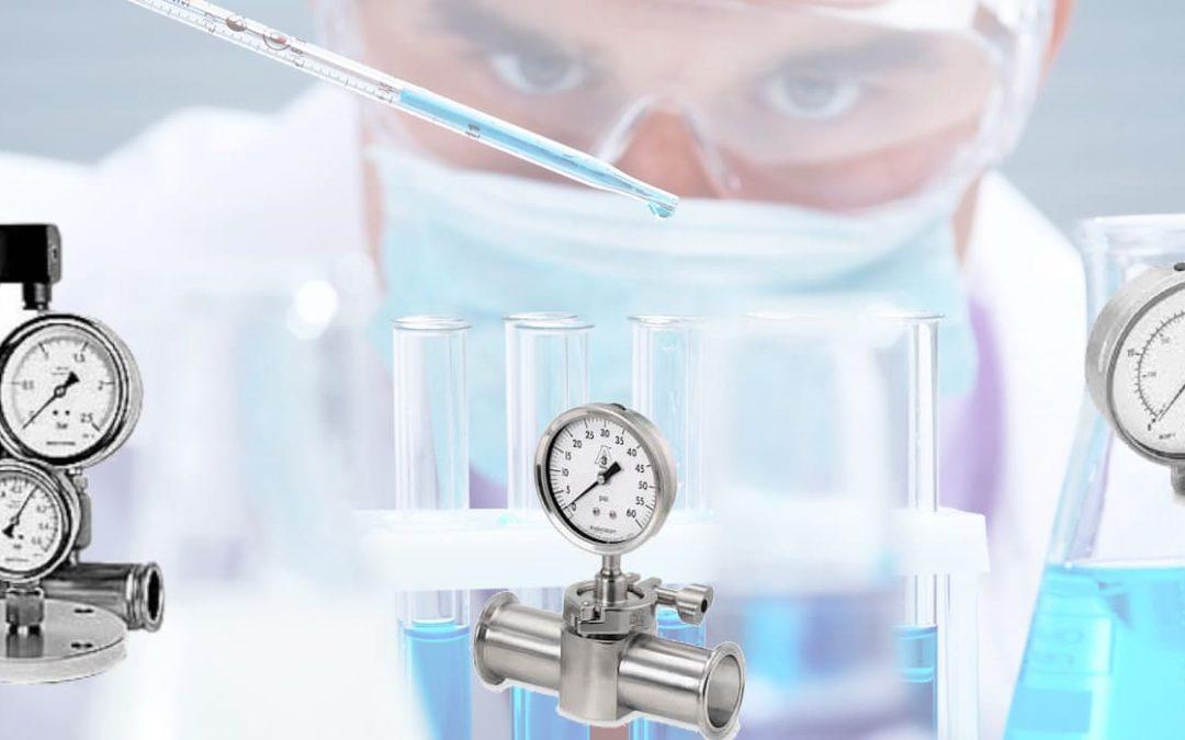 Manómetros para la industria Farmacéutica